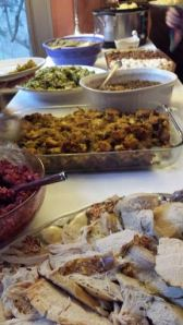 We had a pretty fabulous spread at Thanksgiving - wonderful food, beautifully prepared, abundant.