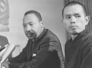 ThichNhat Hanh with Martin Luther King
