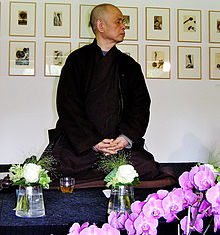 Thich Nhat Hanh - his students call him Thay, Vietnamese for teacher.