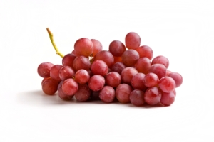 In the right state of mindfulness, grapes are a gas to touch.  Holiday grapes - which look pretty much like these, only fatter - can be orgasmic to eat, worth the risk of the customer saying that they actually don't want to give you one.