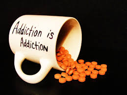My addiction to sugar is like my addiction to cigarettes - is like any other addict.